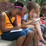 Writing on Coventry in summer camp