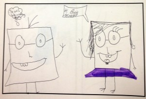 The Adventures of the Book Minion By Mackenzie at the Sunbeam School Writers' Club