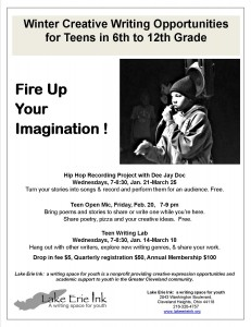 Fire Up Your Imagination at Winter Writing Workshops