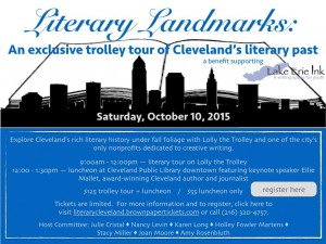 Cleveland Literary Trolley Tour 10/10