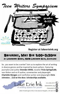 Teen Writers Symposium @ Loganberry Books | Cleveland Heights | Ohio | United States