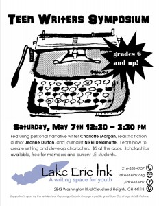 Teen Writers Symposium @ Lake Erie Ink | Cleveland Heights | Ohio | United States