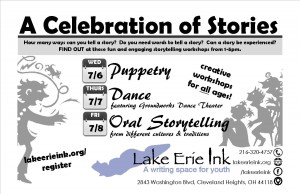 A Celebration of Stories @ Lake Erie Ink: a writing space for youth | Cleveland Heights | Ohio | United States