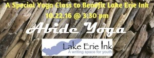 Yoga for Youth Voice, a Benefit for Lake Erie Ink @ Abide Yoga | Cleveland | Ohio | United States