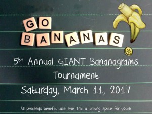 GIANT Bananagrams Tournament Fundraiser @ CH-UH High School, WIley Campus | University Heights | Ohio | United States