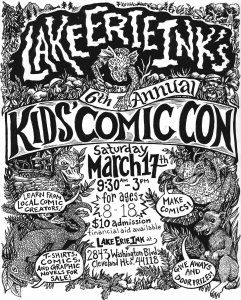 6th Annual Kids' Comic Con! @ Lake Erie Ink: a writing space for youth | Cleveland Heights | Ohio | United States