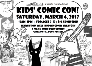 5th Annual Kids' Comic Con! @ Lake Erie Ink: a writing space for youth | Cleveland Heights | Ohio | United States