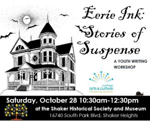 Eerie Ink: Stories of Suspense @ Shaker Historical Museum | Shaker Heights | Ohio | United States