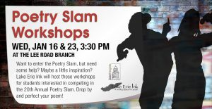 Poetry Slam Workshops @ Cleveland Heights University Heights Library, Lee Road Branch | Cleveland Heights | Ohio | United States