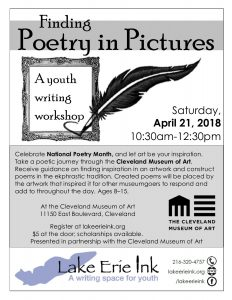 Finding Poetry in Pictures: a Weekend Ink Workshop @ Cleveland Museum of Art | Cleveland | Ohio | United States