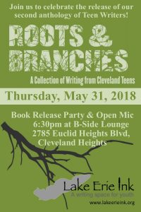 """Roots and Branches"" Book Release Party & Open Mic @ B-Side Lounge 