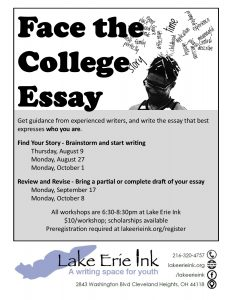 English Language Essays Scholarships Available English Essays For Kids also Thesis For Argumentative Essay Examples Face The College Essay Review And Revise  Lake Erie Ink A Writing  Essays About High School