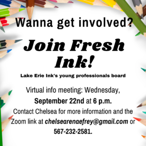 Want to be involved in Lake Erie Ink's Young Professional Board?